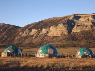 Domo geodésico Aonikenk Puerto Natales