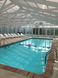 New Indoor Heated Pool