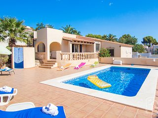 4 bedroom Villa in Calpe, Costa Blanca, Spain : ref 2246620