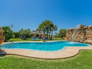 6 bedroom Villa in Can Picafort, Mallorca, Mallorca : ref 2249715