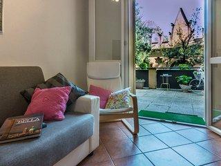 appartamento con grande terrazza