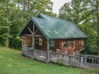 WHERE THE MAPS END- 2 BEDROOM/2.5 BATH PRIVATE CABIN! SLEEPS 6, CHARCOAL GRILL
