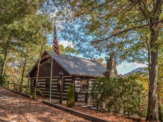 ROBIN`S NEST- 3 BEDROOM/ 2 BATH CABIN WITH A BREATHTAKING MOUNTAIN VIEW! SLEEPS, Cherry Log