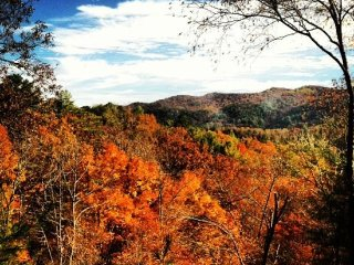 ROCKY LODGE- 2BR/1BA, AWESOME MOUNTAIN VIEW, PRIVATE HOT TUB WITH ROMANTIC, Blue Ridge