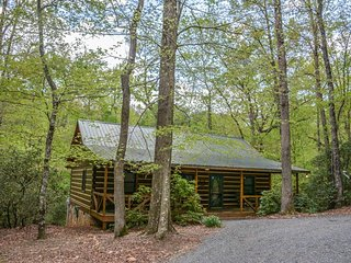 LAUREL CREEK- 2BR/2BA- PRIVATE CABIN SLEEPS 6, KING BEDS AND TV`S IN BEDROOMS