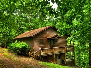 A HEAVENLY VIEW- 3BR/2BA- SECLUDED CABIN WITH BEAUTIFUL MOUNTAIN VIEWS,