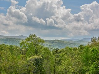 OKEANA OF THE LAST RESORT- 1BR/1BA CABIN WITH BEAUTIFUL MOUNTAIN VIEW, INDOOR, Blue Ridge