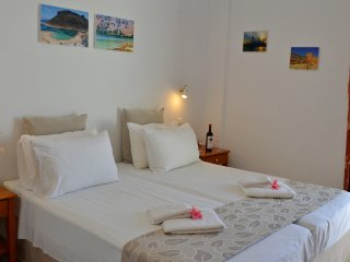 Melina's House - One bedroom apartment,2-4 people,Stalos Beach Chania West Crete