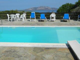 Villa Mirea con piscina