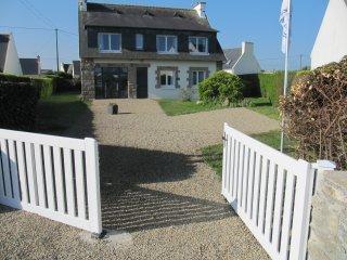 Wellness-Ferienhaus im Nordfinistère, 100 Meter bis zum Strand, 165m² max.6 Pers