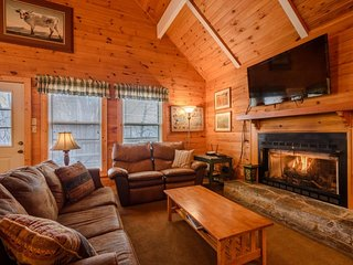 5BR Mountain Chalet with 2 King Suites, Hot Tub, Close to Beech Mountain Ski