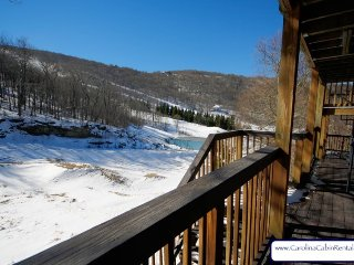 3BR Ski Villa just off Powder Bowl Terrain Park on Beech Mountain, Great Views