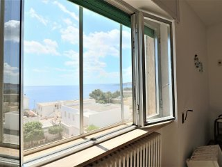 Holiday home in santa Cesarea Terme with large terrace and sea view