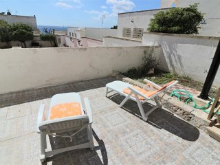 Holiday house in Salento Salento in Santa Cesarea Terme with sea-view terrace an