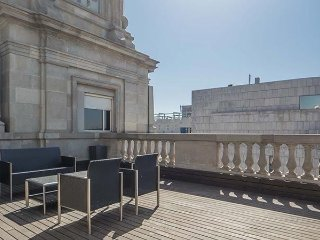 C104 - Luxury penthouse with terrace Placa Catalunya II