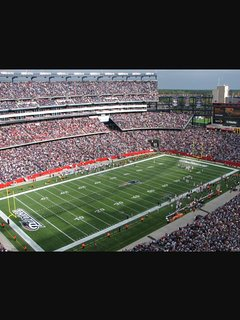 Gillette Stadium.