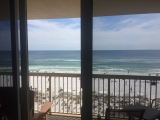 5th Floor Remodeled Pelican Beach Front Condo Excellent Ocean views & Amenities!