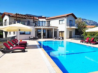 Villa Amelia sleeps 10 people with 5 bedrooms and 5 bathrooms