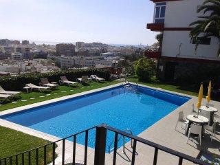 Apto con piscina y vistas mar, Las Palmas de Gran Canaria