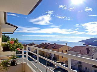APARTMENT WITH AMAZING SEA VIEW, Rabac