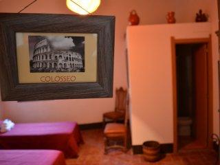 Masia le Romane room Colosseo