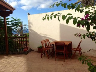 House with sea view and garden, San Sebastian de la Gomera