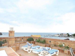 Atico de 1 dormitorio con 300 metros de solarium 1 linea de playa
