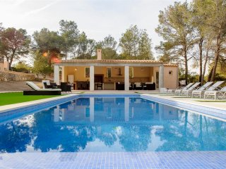 Villa Pins, farmhouse with mountains views, BBQ, pool & wifi