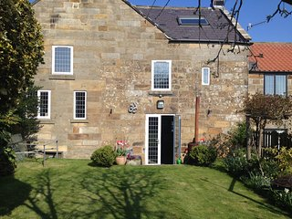 The Green. Beautiful cottage near Whitby in the North Yorkshire National Park.