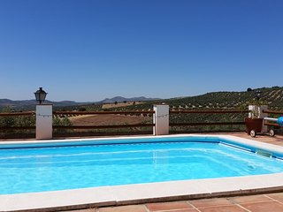 """El Nogal"" self catering apartment at Cortijo de los Cien Canos, Villanueva del Trabuco"
