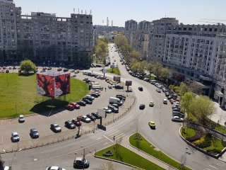 Unirii Boulevard Apartment, Bucharest