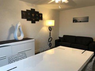 Résidence Erdia : bel appartement avec parking proche commerces et plages, Biarritz