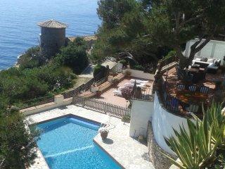 Villa Transatlantique  en premiere ligne de mer,  nomme Villa Esmeralda
