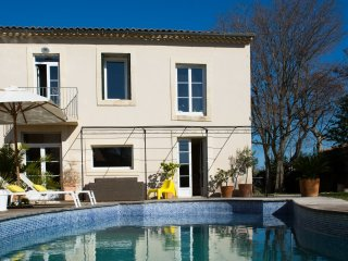STYLISH VILLAGE HOUSE WITH POOL NEAR MONTPELLIER