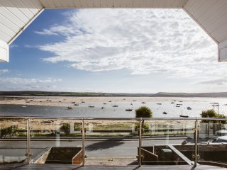 Waterside, panoramic view of the Estuary and Padstow - enquire about short stays