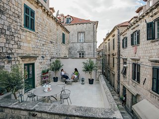 Luxury Tailor house with unique private terrace, Dubrovnik