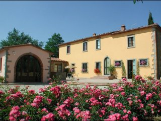 5 bedroom Villa in Castiglion Fiorentino, TOSCANA, Italy : ref 2258760
