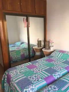 Bedroom 1 with aircon