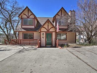 NEW! 4BR Lake Arrowhead House w/Gorgeous Mtn Views!