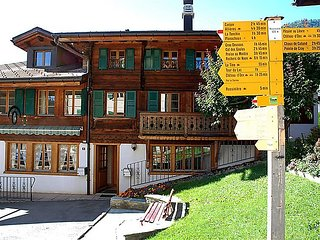 2 bedroom Apartment in Rossiniere, Alpes Vaudoises, Switzerland : ref 2285232