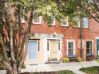 Stay Local in Savannah: Historic Two Bedroom Home with Private Courtyard!