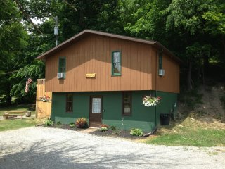 Sandy Run Cabin 1st Choice Cabin Rentals Hocking Hills between Logan and Athens