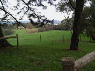 The first view of the property from the approach road boundary