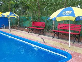 2,3bhk bungalow with pool