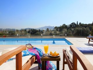 Luxury villa in a quiet area and near the village and the beach of Ligia