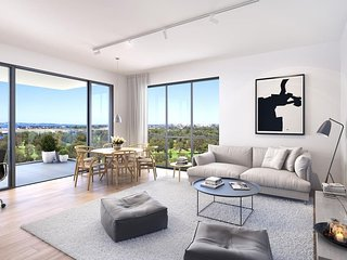 Brand new apartment with water views near Sydney Airpor