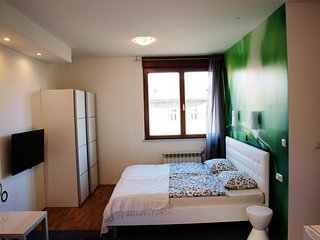 NEW 4 * studio apartement zagreb,free parking in a private garage