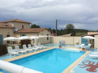 Stunning house with private heated pool, La Rochefoucauld