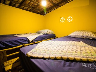 Shared Room (4 Beds) - Pé no Rio Guesthouse - Chapada Diamantina / Brazil