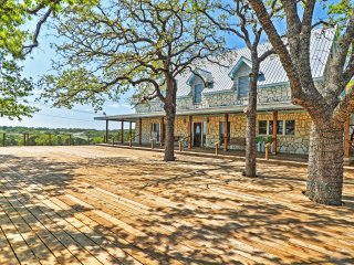 NEW! 11BR Marble Falls 'Heart of Texas Ranch'!